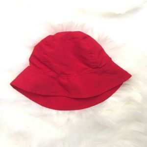 Other - 5/$25 👶🏼 Red Baby Beach Hat With Velcro Fastener